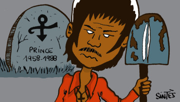 BLACK BLOC NOTES ::: Prince by Eric Sintès