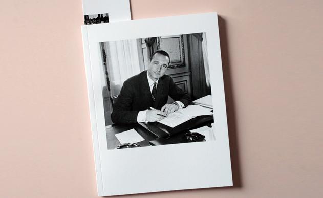 JACQUES CHIRAC <br> The great master of art history with pictures of Jacques Chirac