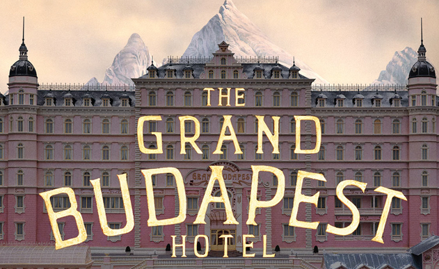WES ANDERSON <br> Grand Budapest Hotel