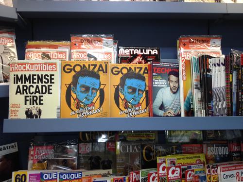 Septembre 2013 : première tentative de placement sauvage du magazine en kiosque avec ce qui restera certainement comme la couverture la plus affreuse de tous les temps.