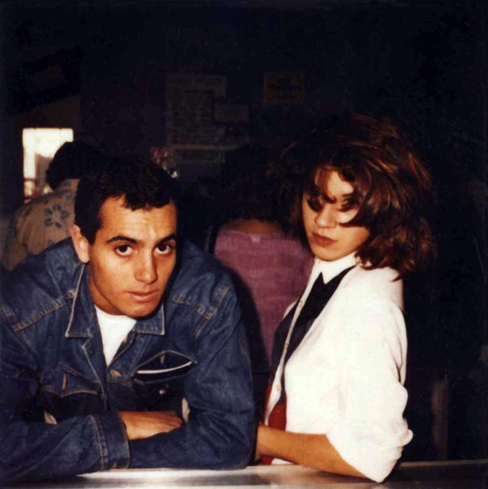 Esteban et Lizzy Mercier Desloux à Los Angeles en 1982