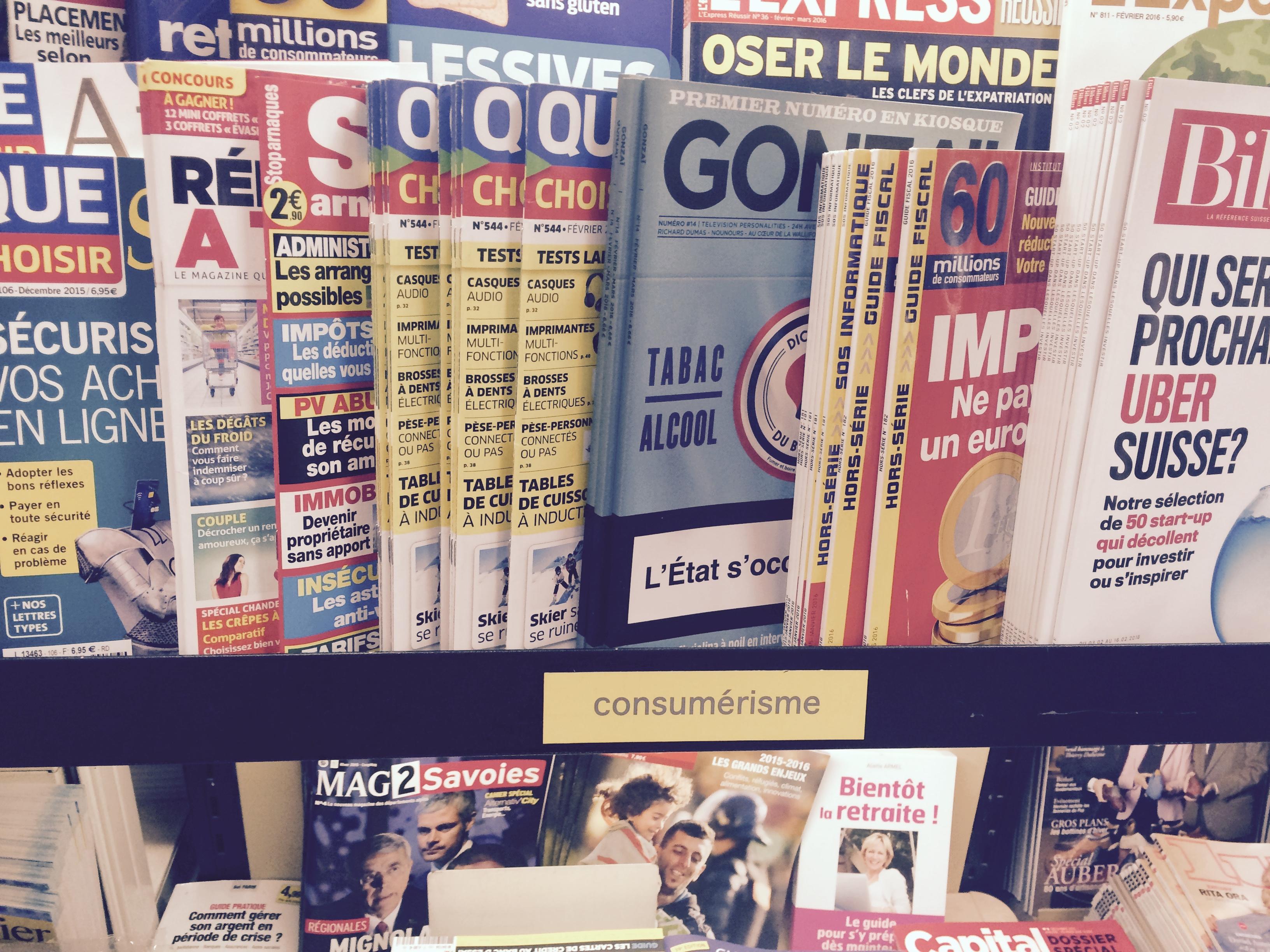 Le magazine gonza arrive en kiosque - Magazine le journal de la maison ...