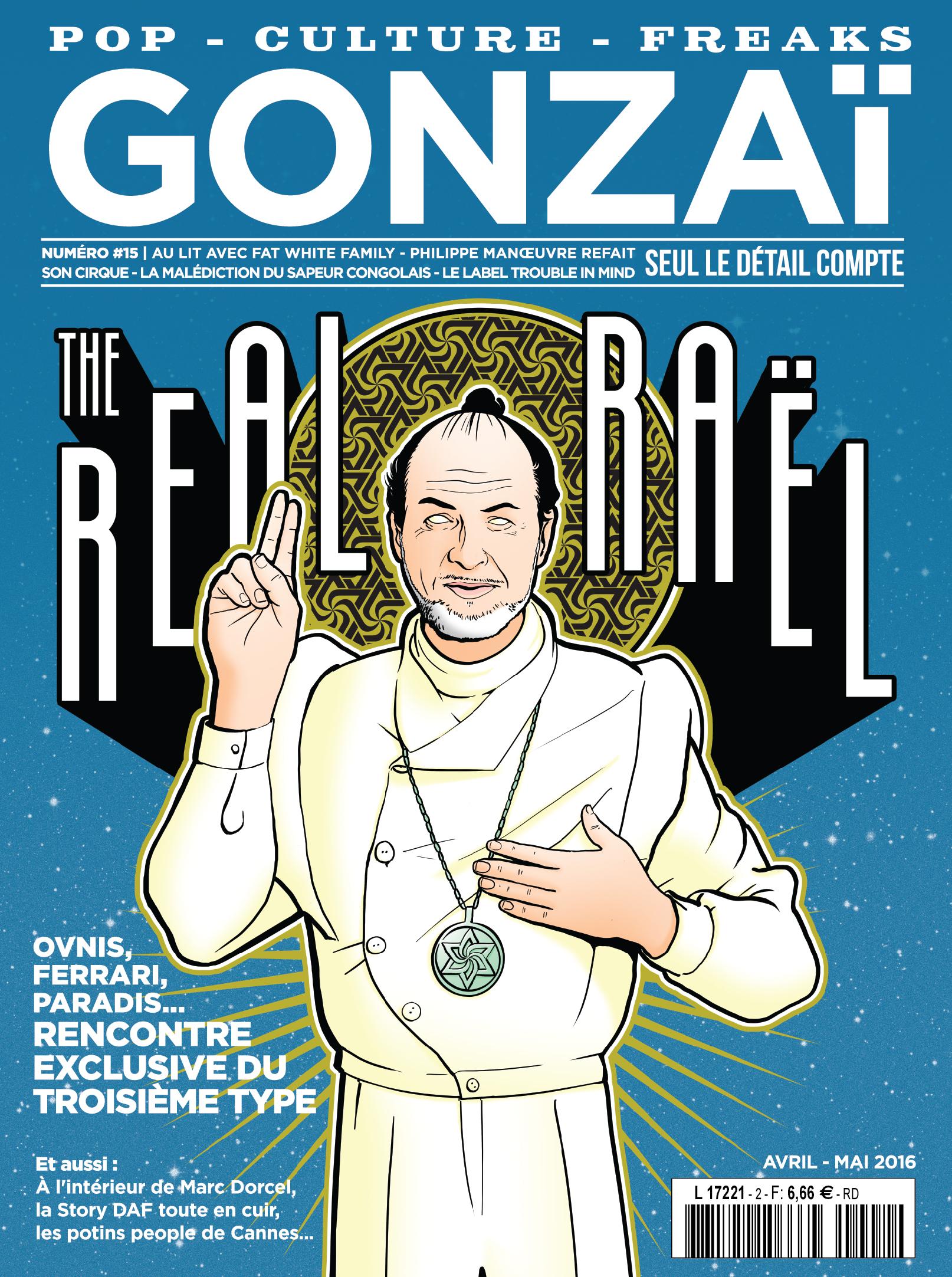 GONZAI RAEL web