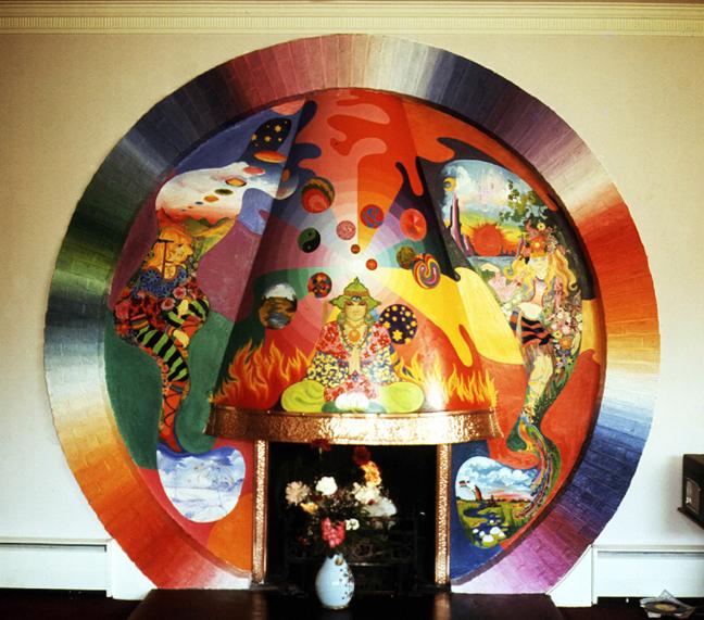 D2-George Harrison mural