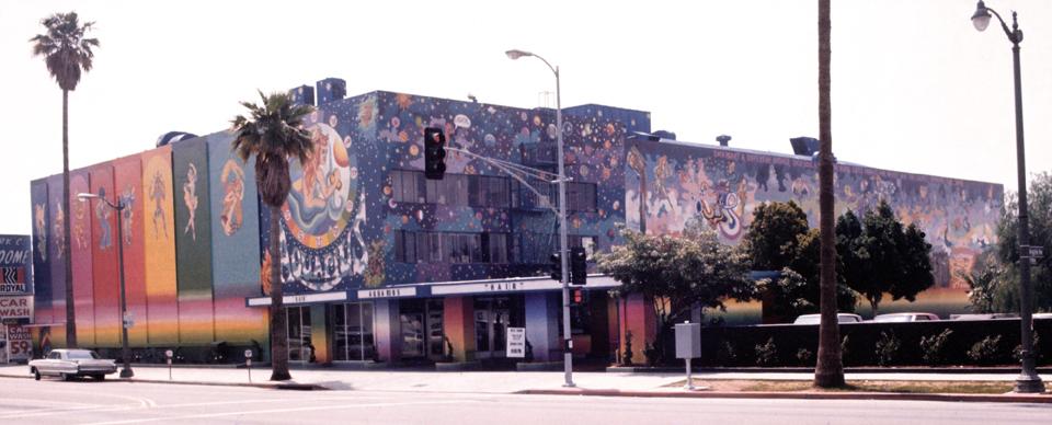 G-Aquarius Theatre Mural