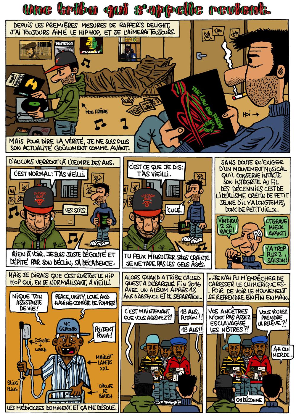A TRIBE PAGE 1 OK!