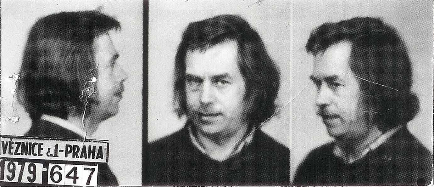 Československo / Praha - Pankrác / věznice: Václav Havel 1979