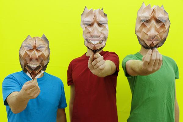 Cheveu. masques de Yves Koerkel