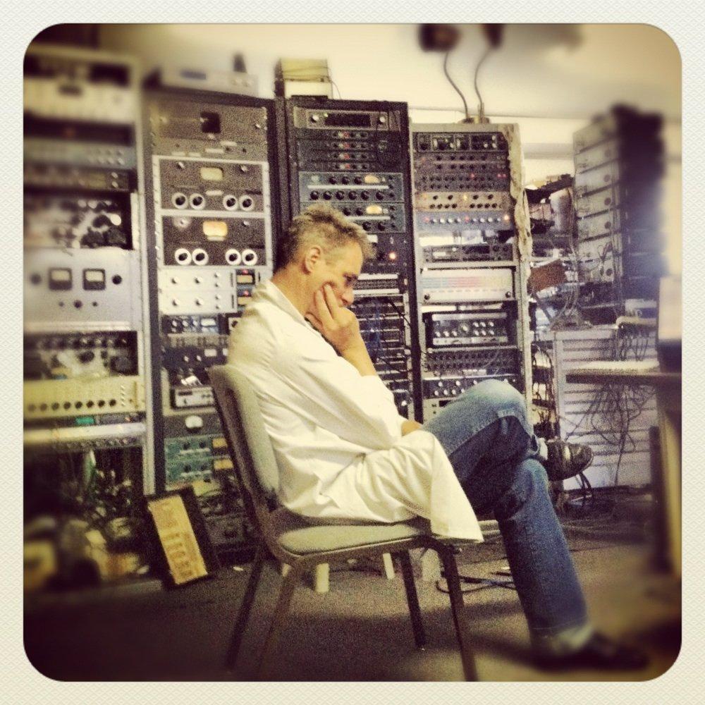 Calvin Johnson au Dub Narcotic Studio (2012)