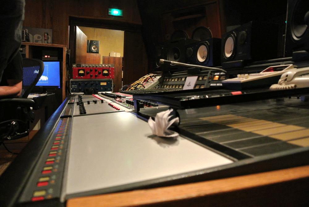 La console Neve du studio A.