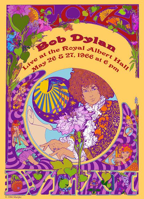 H-Bob Dylan poster